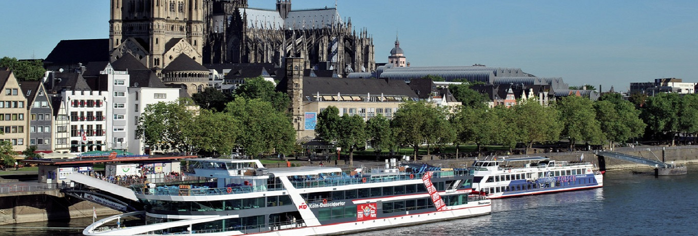 Boat trips in Cologne